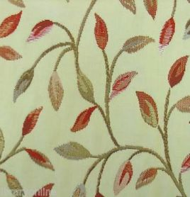 Voyage Cervino Red Nut Curtain Fabric