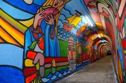 arte de la calle 140 Brigada Ramona Parra..Valparaiso,Chile