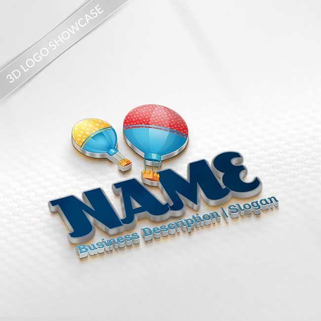 Free Logo Maker - Create Logo Online - Balloon Logo Design