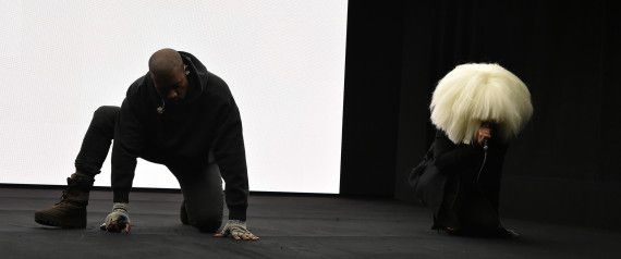 Kanye Performs New Song 'Wolves,' With Sia & Vic Mensa, During Awesome 'SNL 40' Appearance