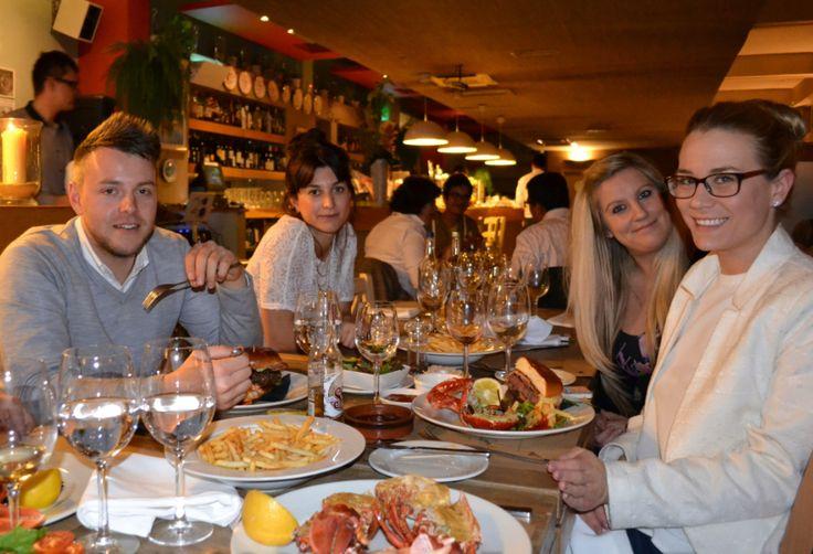 ... Customers! #LobsterAndBurger   Lobster & Burger Evenings   Pint