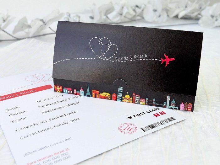 Invitación de boda - ACREA 32680