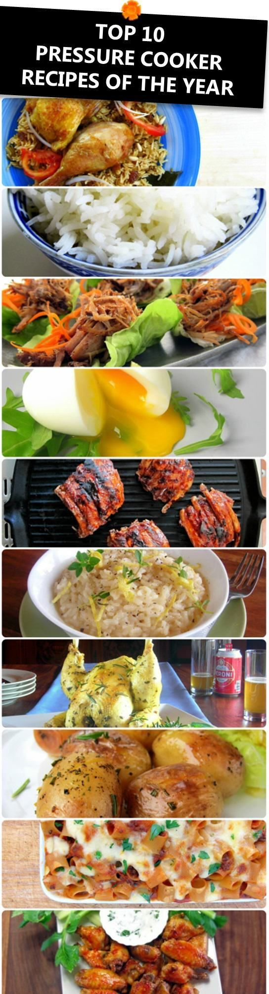 Top 10 Pressure Cooker Recipes of the Year 2014
