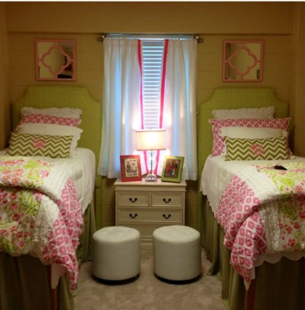 Decorating Ideas > Beautiful Dorm Room  Dorm Room Ideas  Pinterest  ~ 045423_Matching Dorm Room Ideas