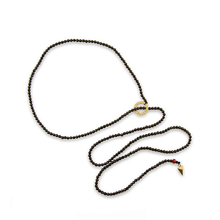 Spinel Pyramid Necklace - Adorable Adornments