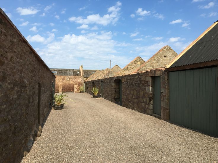 The cow shed Crail entrance #steadingwedding #wedding #fife #standrews