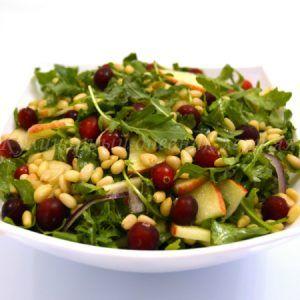 Салат с рукколой и яблоком — Кулинарный дневник лентяя