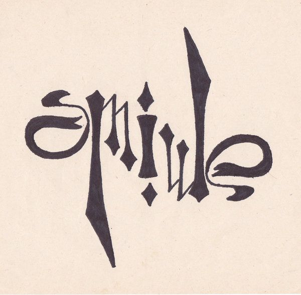 Ambigram by kafe-smile