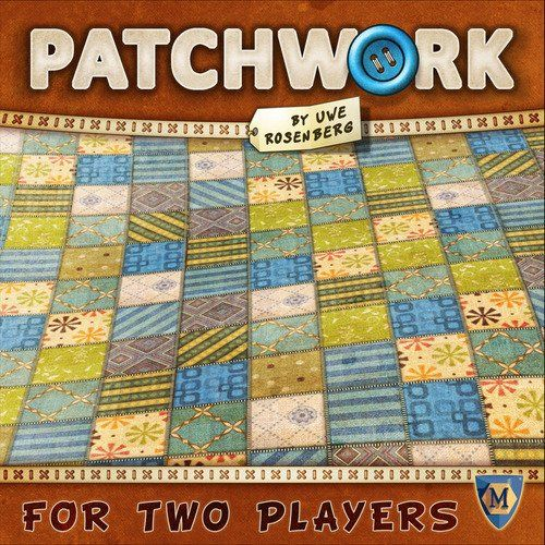 Patchwork Board Game Mayfair Games http://smile.amazon.com/dp/B00RCCAPPE/ref=cm_sw_r_pi_dp_8GpPwb1H93F0H