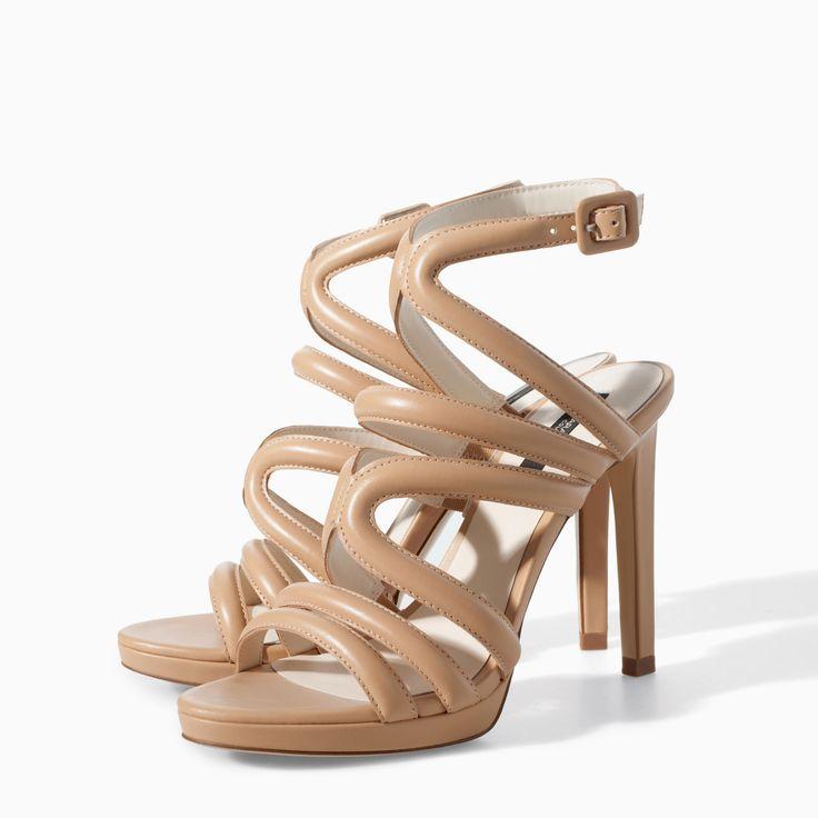 Nude Zara Heels | Tsaa Heel
