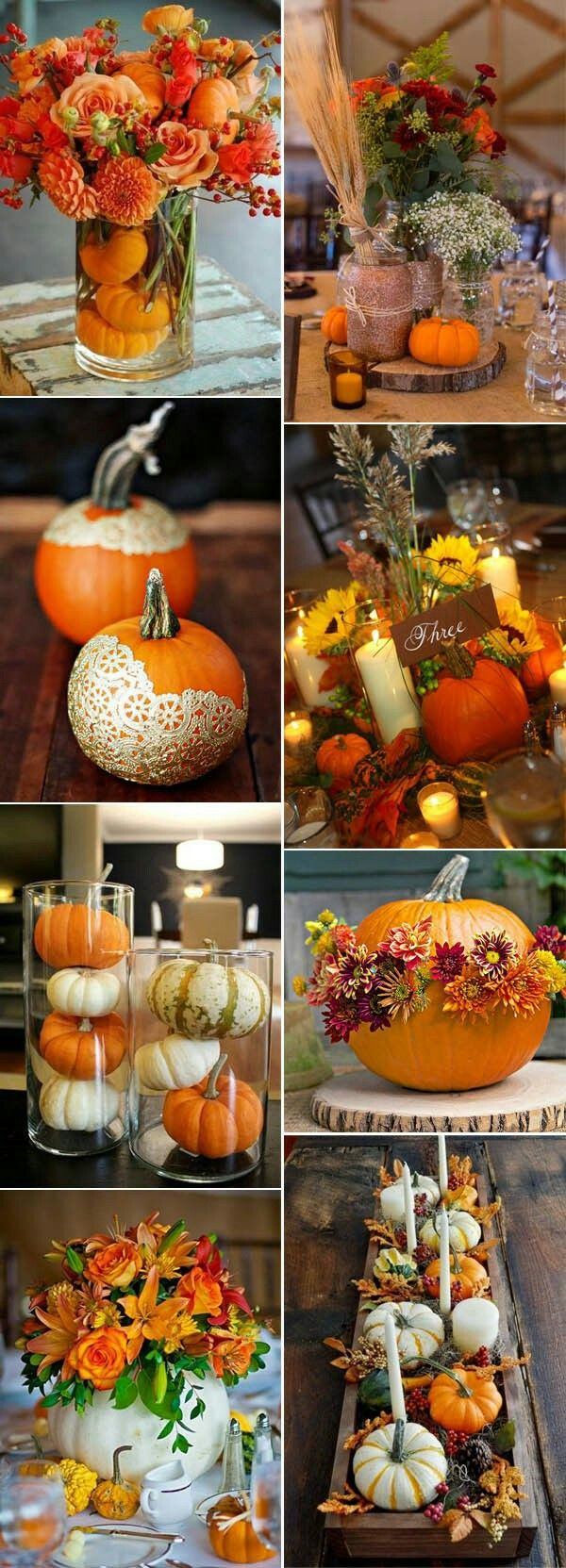 Fall Decor - Table Decor and Centerpieces