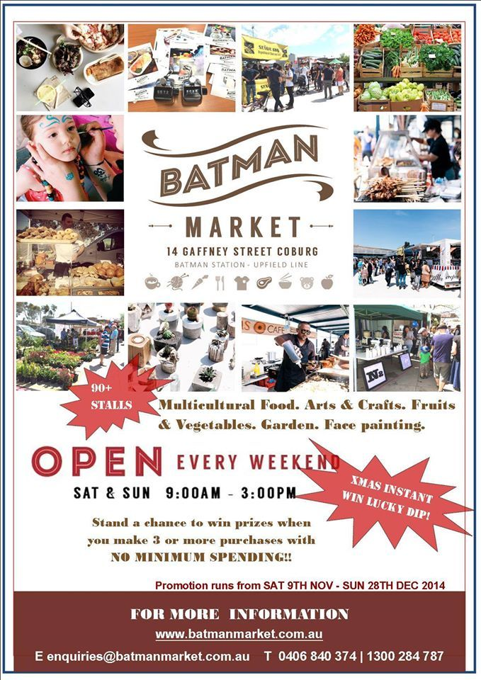Batman Market -Sunday Market Melbourne | Weekend MarketBatman Market