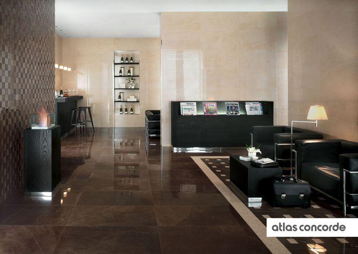 #MARVEL bronze and beige   #AtlasConcorde   #Tiles   #Ceramic