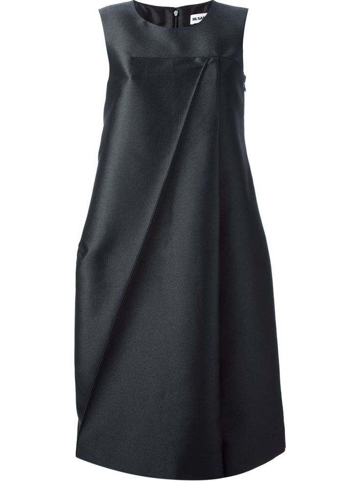 Jil Sander - Sleeveless Voluminous Dress