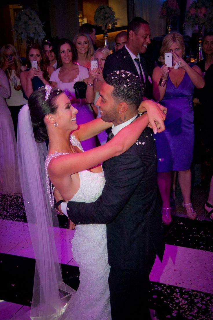 Jermaine Pennant and Alice Goodwin's wedding day - Love