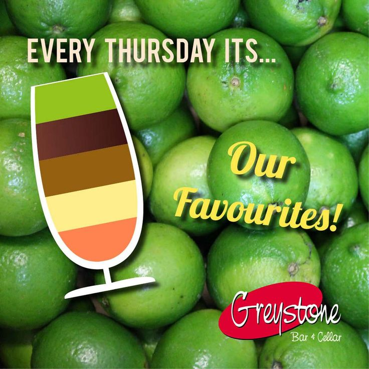 Every Thursday is the staff who pick the cocktails!