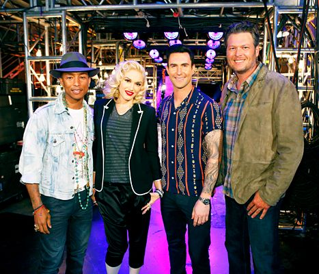 The Voice Season 9 Coaches: Gwen Stefani In, Christina Aguilera Out - Us Weekly