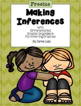 Inferring is a hard skill to teach and to assess. I found that my first grade students do so much better when I scaffold their instruction by giving them the inference and asking for the text. They finally began to be able to give me the inference when I gave them the text.  - repinned by @PediaStaff – Please Visit  ht.ly/63sNt for all our pediatric therapy pins