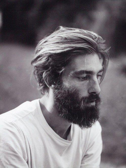 barba pelo largo
