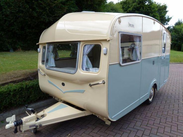Classic Vintage Caravan   Castleton   1960's  
