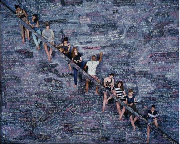 One World, One Dream (2014) C-print