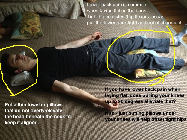 Sleeping Positions To Bring Relief To Lower Back Pain