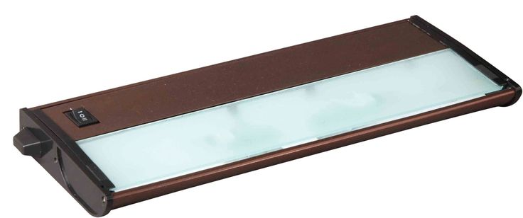 "Maxim 87841 13"" 2 Light Linkable Xenon Under Cabinet Light from the CounterMax C Metallic Bronze Indoor Lighting Under Cabinet Light Bars"