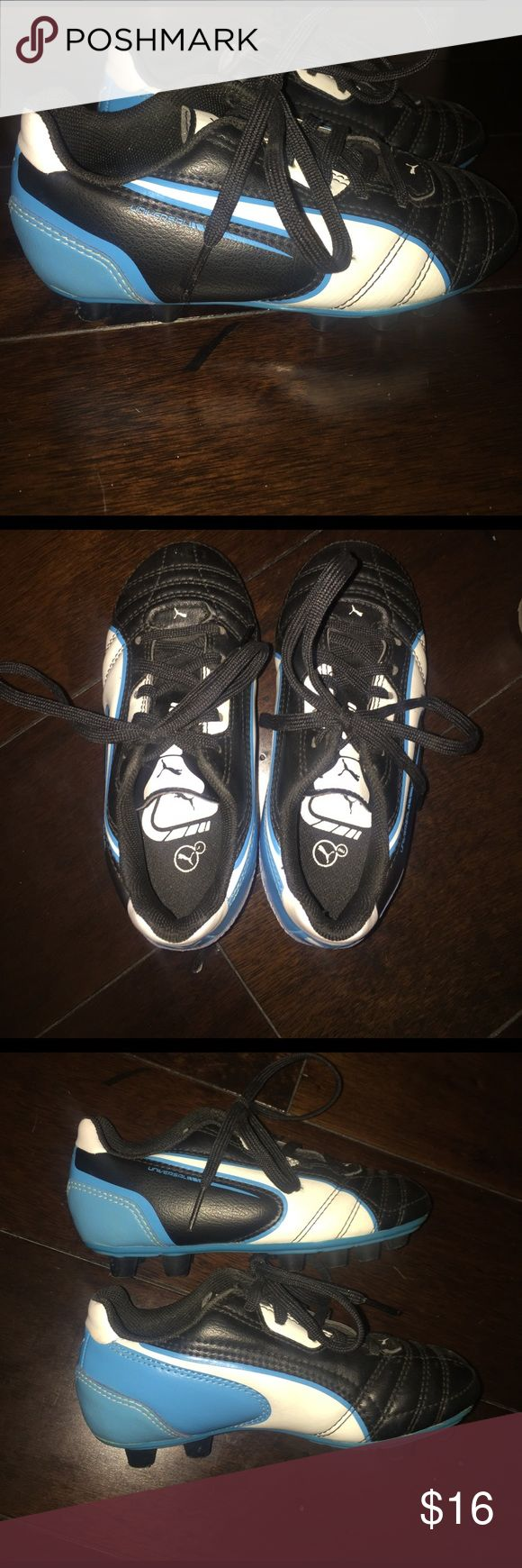 Puma toddler soccer cleats size 11 Puma toddler soccer cleats. Size 11. Worn a few times. Excellent condition. Puma Shoes Sneakers