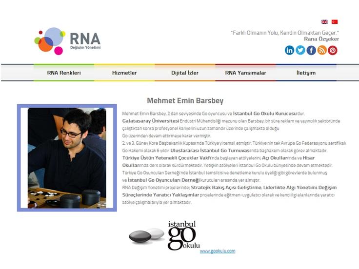 RNA'ya Yön verenler     Mehmet Emin BARSBEY     İstanbul GO Okulu ...www.rna-tr.com/rnaya-yon-verenler