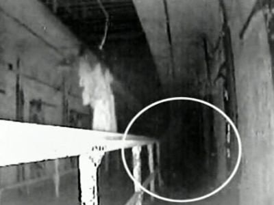 Eastern State Penitentiary and ghost caught on film