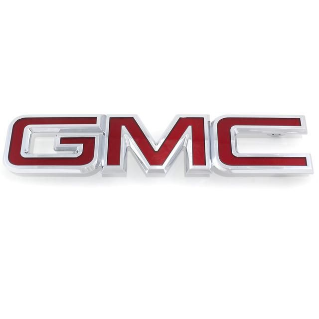 2010 2013 Gmc Terrain Front Grille Red With Chrome Trim Emblem New