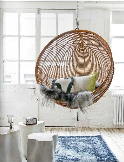 otan hanging bowl chair