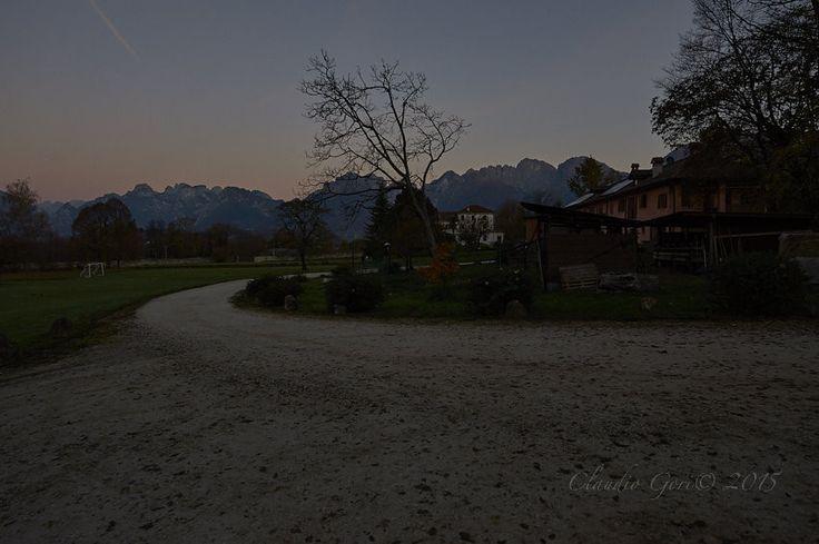 https://flic.kr/p/FHJTVs | Il-Sole-CG-15-11-13-_DSC4902 | Alba sulle Dolomiti Bellunesi