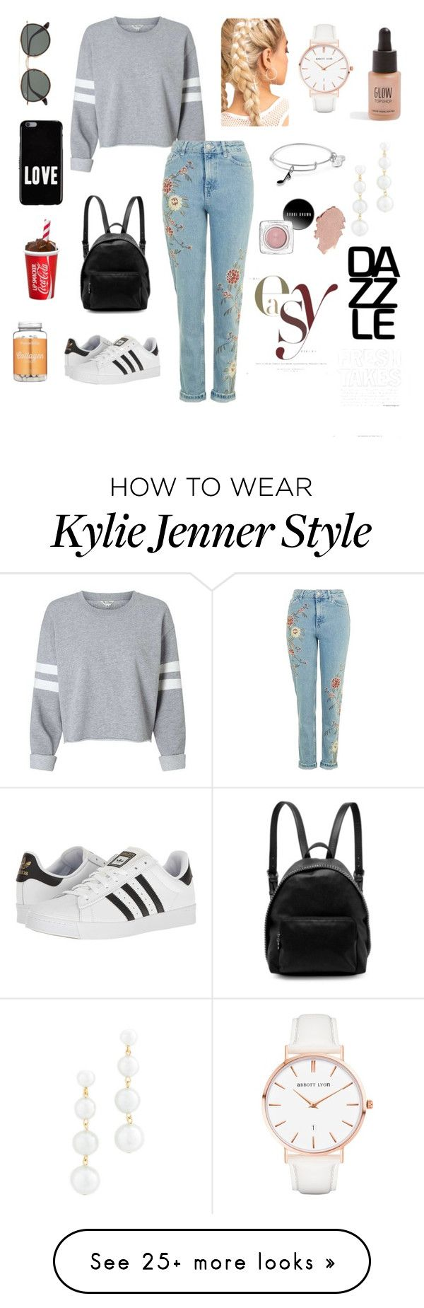 """""""Untitled #282"""" by camila1970 on Polyvore featuring adidas, STELLA McCARTNEY, Ray-Ban, Givenchy, Alex and Ani, Abbott Lyon, Rebecca Minkoff and Topshop"""