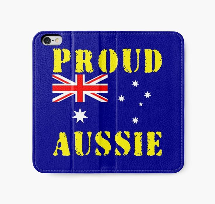 Proud Aussie iPhone Wallets by Terrella