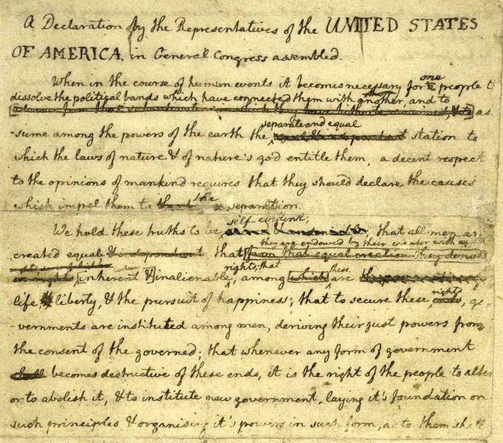 personal declaration of independence from school Teach about the us independence day to esl students with this complete the declaration of independence from an complaints you have heard in school.
