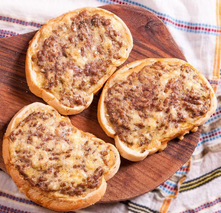 Бутерброды с фаршем и сыром | Кулинарный Рай