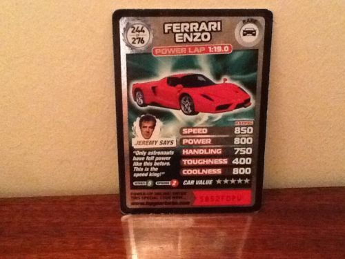 Top Gear Turbo Challenge RARE Ferrari Enzo 244/276