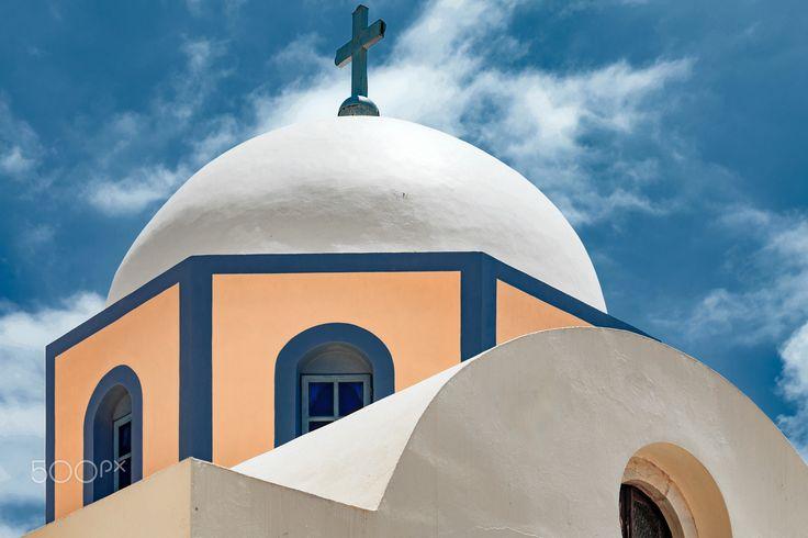 Church.. - church at Santorini Island - Greece.