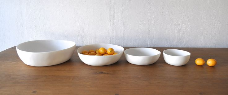 Wide Bowl Collection - Spring 2015 - Tina Frey Designs - Hand sculpted and handmade with care