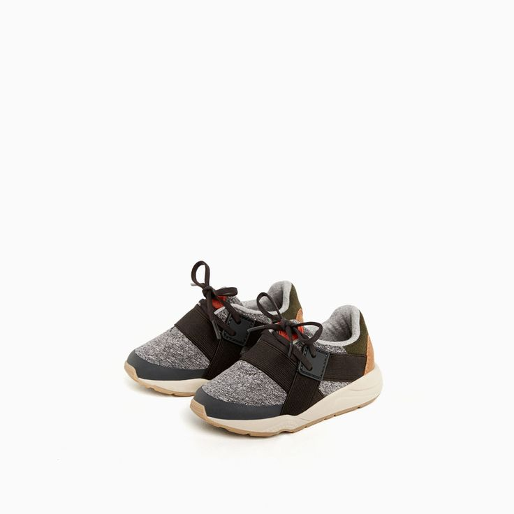 STRETCH SNEAKERS-JOGGING-Baby boy-Baby   3 months - 3 years-KIDS   ZARA United States