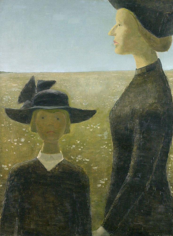 """""""Mort par un clair matin"""", Jean-Paul Lemieux,1904-1990, peintre québécois"""
