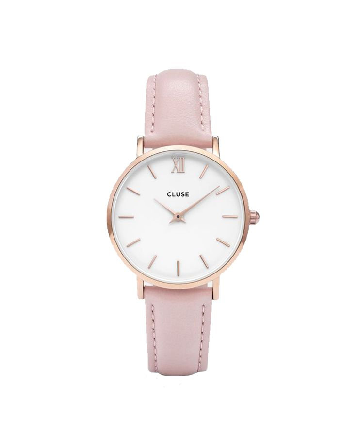 Cluse Hodinky Minuit Rose Gold White/Pink 2490 Kč
