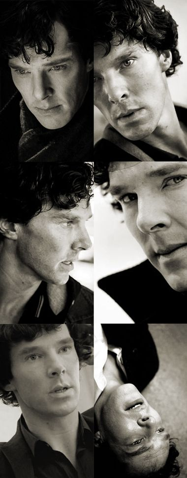 Am I alone in thinking that Ben looks most gorgeous in his role of Sherlock? I mean, i know he looks gorgeous practically all the time, but I feel like as Sherlock his dramatic beauty is best brought out.
