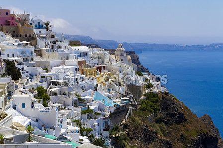 Santorini / Oia — Stock Photo © GoodArtPix #80449182