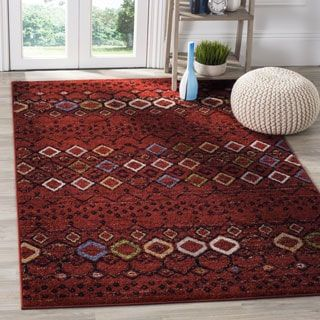 Shop for Safavieh Amsterdam Bohemian Terracotta / Multicolored Rug (7' x 10'). Get free shipping at Overstock.com - Your Online Home Decor Outlet Store! Get 5% in rewards with Club O! - 19440972