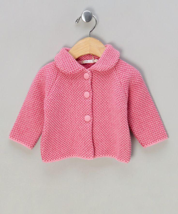 Pink Knitted Cashmere-Blend Blazer £13.99