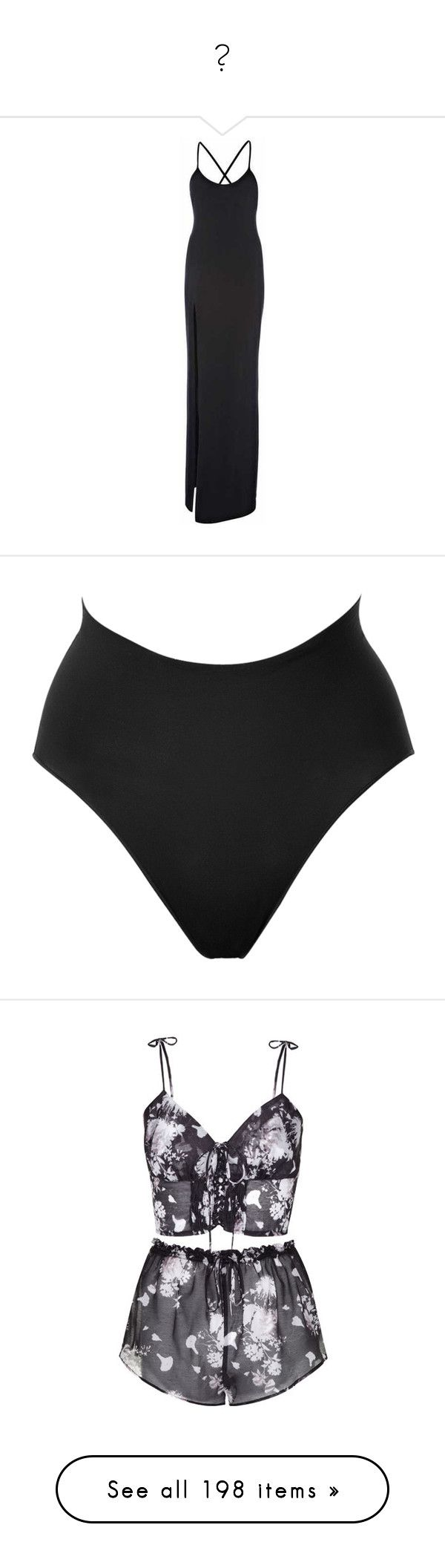 """""""🔥"""" by idc-baby ❤ liked on Polyvore featuring dresses, intimates, lingerie, underwear, bottoms, shorts, panties, black, high-waisted lingerie and spanx lingerie"""