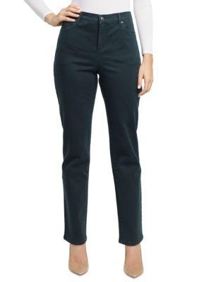 Gloria Vanderbilt Women's Amanda Jean - Dark Pine - 12 Short