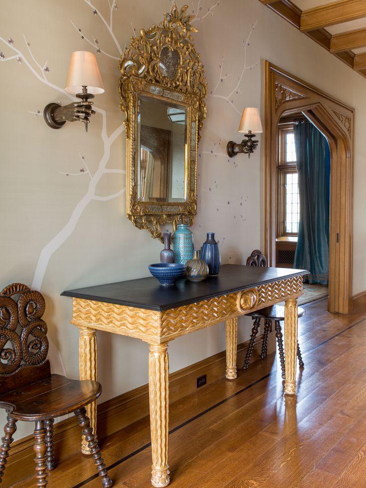 Douglas VanderHorn Architects | Entry Foyer In An English Tudor Style Home